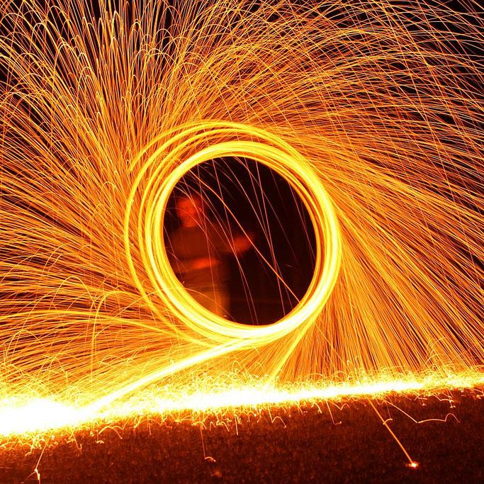 A Fiery Spectacular
