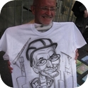 Caricatures on T-shirts-3