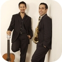 Duo Historie and their new act Sax Summit-1