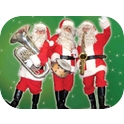 Wacky - The Three Santas